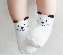 Socks - white polar bear