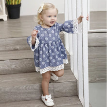 Flared Sleeve Daisy Dress