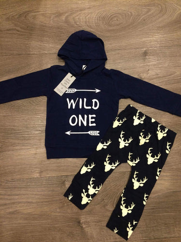 WILD ONE - hoody and pants set