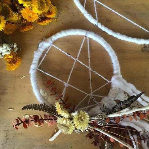 PRIVATE FLORAL DREAM CATCHER
