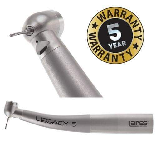Legacy 5 Mini SLC, Lighted, KaVo MULTIfelx Backend, Ceramic Bearings, Mini Head High Speed Handpieces LARES
