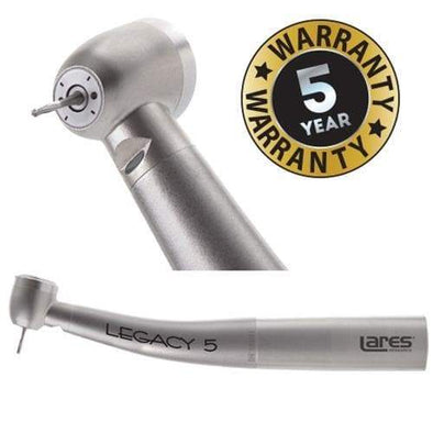 Legacy 5 Standard SLC, Lighted, KaVo Backend, Ceramic Bearings High Speed Handpieces LARES