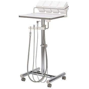 Operatory Support Cart w/Assistant's Package H-Frame - Canada Handpiece