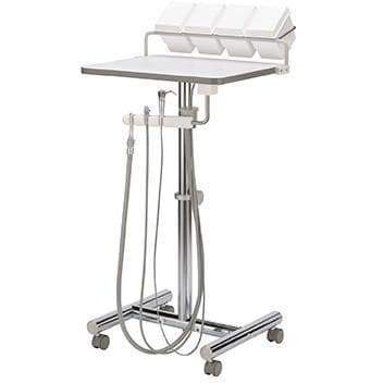 Operatory Support Cart w/Assistant's Package H-Frame Operatory Support Carts DCI