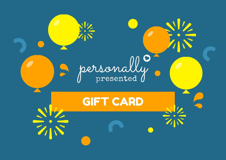 Personally Presented eGift Store Card - Personalised Gift From Personally Presented
