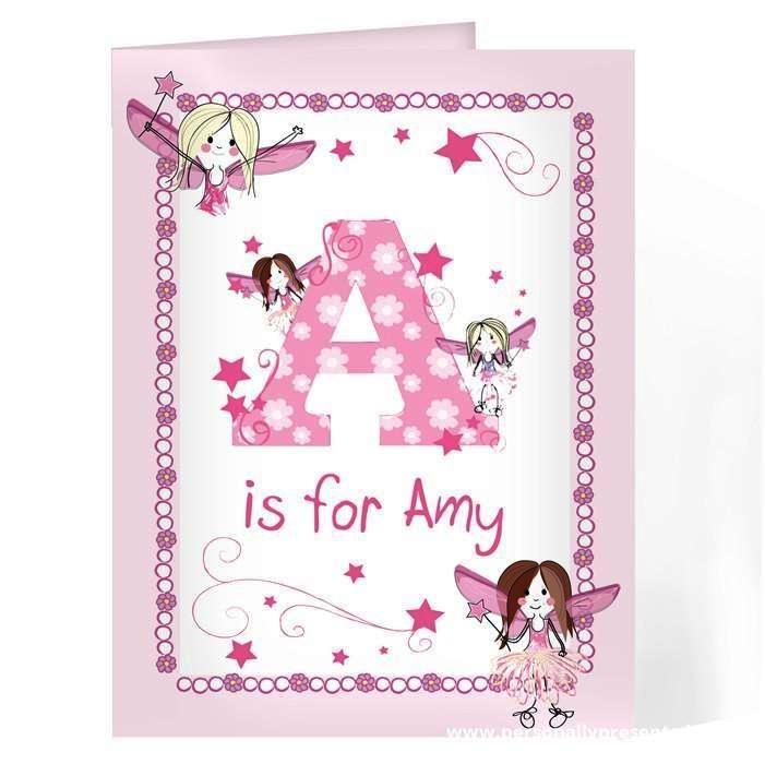 Personalised Fairy Card - Personalised Gift From Personally Presented