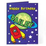 Personalised Space Card - Personalised Gift From Personally Presented