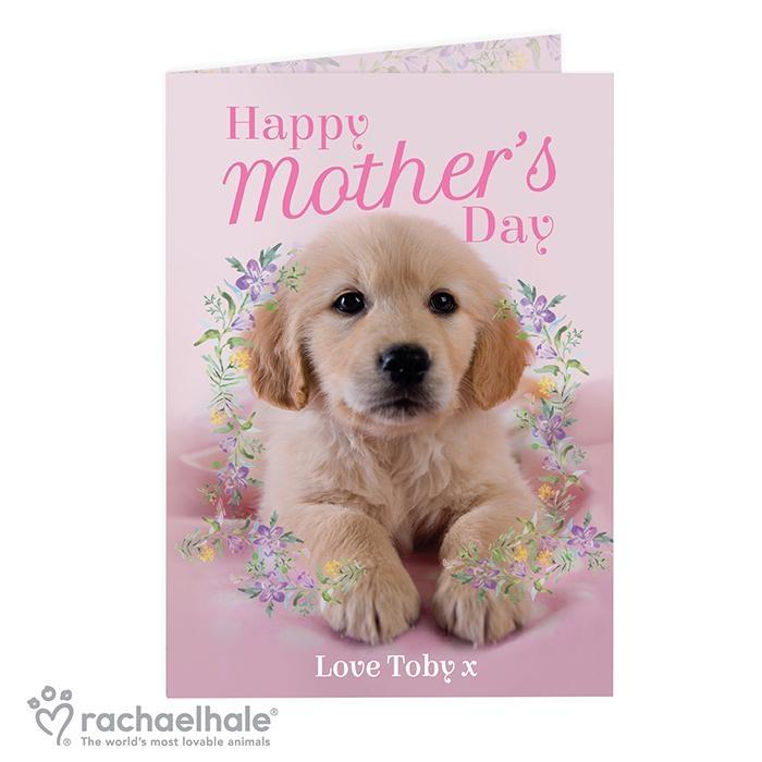 Personalised Rachael Hale 'Happy Mother's Day' Card - Personalised Gift From Personally Presented