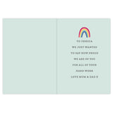 Personalised Rainbow Card - Personalised Gift From Personally Presented