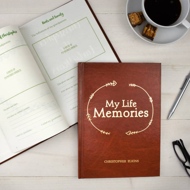 Personalised Lifetime Memory Book Journal