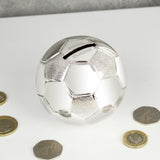Personalised Football Money Box - Personalised Gift From Personally Presented