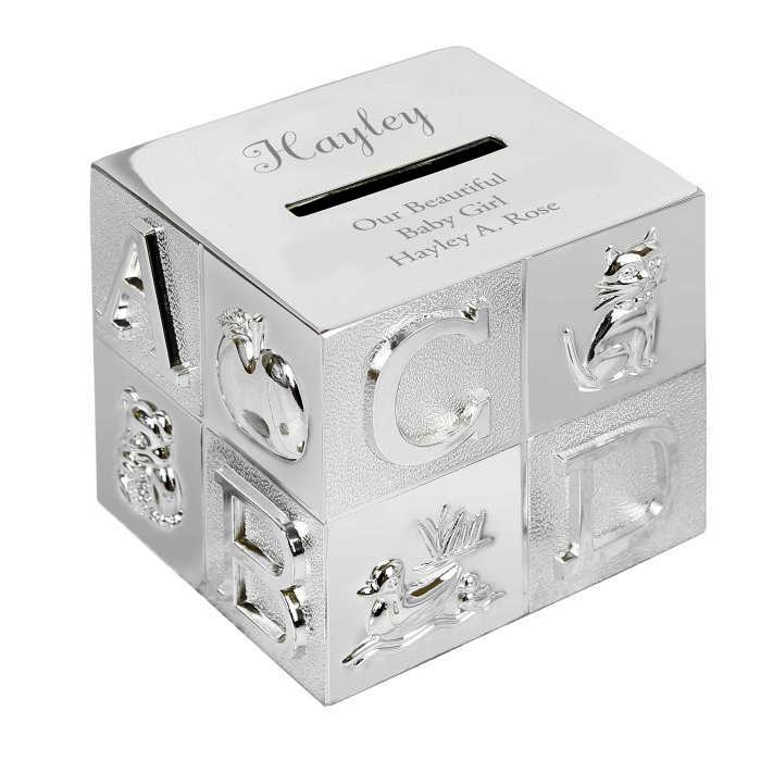 Personalised ABC Money Box - Personalised Gift From Personally Presented