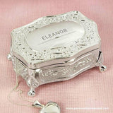 Personalised Classic Small Antique Trinket Box - Personalised Gift From Personally Presented