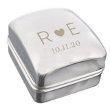 Personalised Initials Ring Box - Personalised Gift From Personally Presented