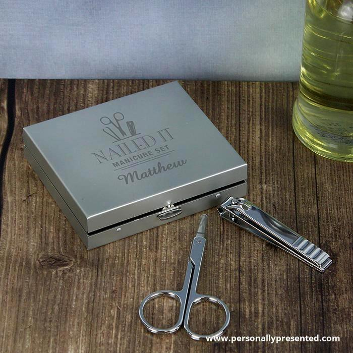 Personalised Nailed It Manicure Set - Personalised Gift From Personally Presented