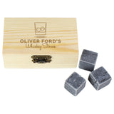 Personalised On The Rocks Whisky Stones Set - Personalised Gift From Personally Presented