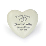 Personalised Floating Hearts Heart Memorial - Personalised Gift From Personally Presented