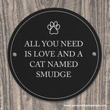 Personalised Paw Prints Pet Sign - Personalised Gift From Personally Presented