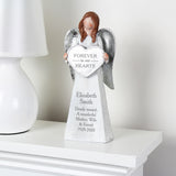 Personalised Forever In Our Hearts Memorial Angel Ornament - Personalised Gift From Personally Presented