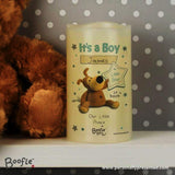 Personalised Boofle It's a Boy Nightlight LED Candle - Personalised Gift From Personally Presented