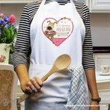 Personalised Boofle Flowers Apron - Personalised Gift From Personally Presented