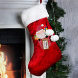 Personalised Santa Claus Luxury Stocking - Personalised Gift From Personally Presented