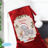 Personalised Me to You Reindeer Luxury Stocking - Personalised Gift From Personally Presented