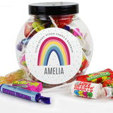 Personalised Rainbow Sweet Jar - Personalised Gift From Personally Presented