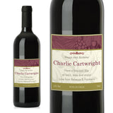 Personalised Traditional Red Wine - Personalised Gift From Personally Presented