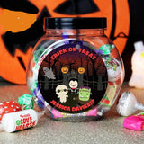 Personalised Halloween Sweet Jar - Personalised Gift From Personally Presented