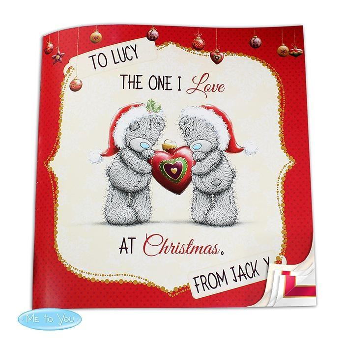 Personalised Me to You The One I Love at Christmas Book - Personalised Gift From Personally Presented