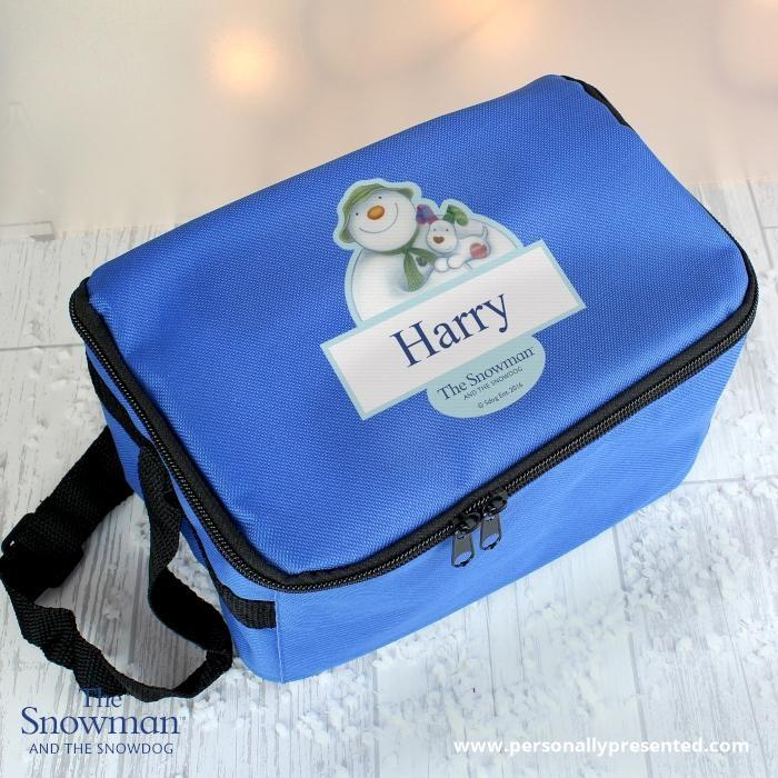 Personalised The Snowman and the Snowdog Lunch Bag - Personalised Gift From Personally Presented