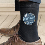 Personalised No.1 Men's Socks - Personalised Gift From Personally Presented