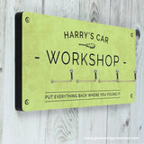 Personalised Workshop Hooks - Personalised Gift From Personally Presented