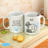 Personalised Me to You Big Age Mug