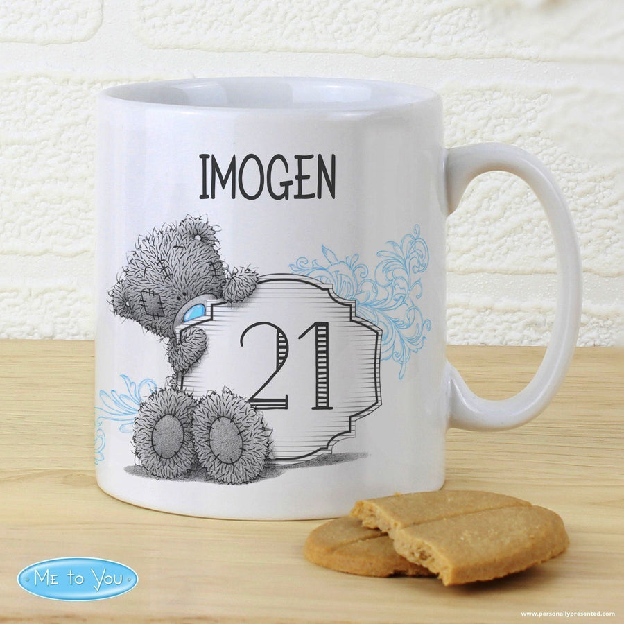 Personalised Me to You Big Age Mug - Personalised Gift From Personally Presented