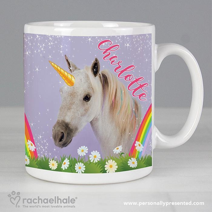 Personalised Rachael Hale Unicorn Mug - Personalised Gift From Personally Presented