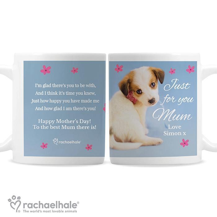 Personalised Rachael Hale 'Just for You' Puppy Mug