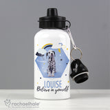 Personalised Rachael Hale Dalmatian Drinks Bottle - Personalised Gift From Personally Presented