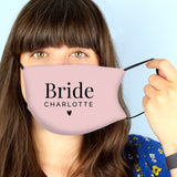 Personalised Bride Face Covering - Personalised Gift From Personally Presented
