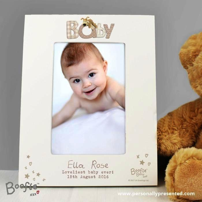 Personalised Boofle Baby 6x4 Photo Frame - Personalised Gift From Personally Presented