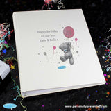 Personalised Me To You Pink Balloon Album with Sleeves - Personalised Gift From Personally Presented