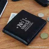 Personalised No.1 Leather Wallet - Personalised Gift From Personally Presented