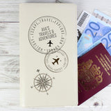 Personalised Stamp Travel Document Holder - Personalised Gift From Personally Presented