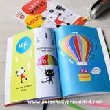 Personalised Arty Mouse Words Book Hardback - Personalised Gift From Personally Presented