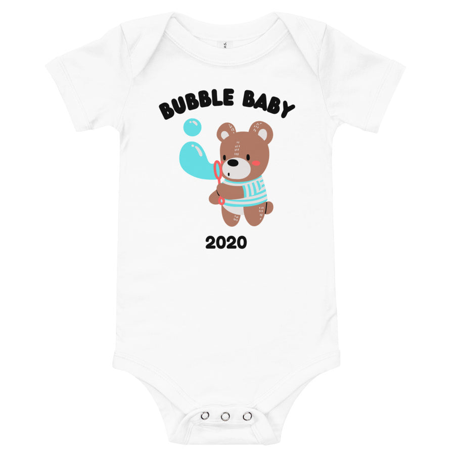 Personalised Bubble Baby One Piece Body Suit