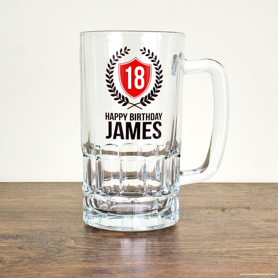 Personalised Birthday Tankard - Personalised Gift From Personally Presented