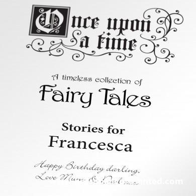 Once Upon a Time: A Personalised Timeless Collection of Fairy Tales