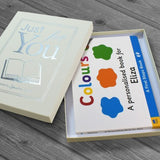 Personalised First Steps Colours Board Hardback Book for Toddlers