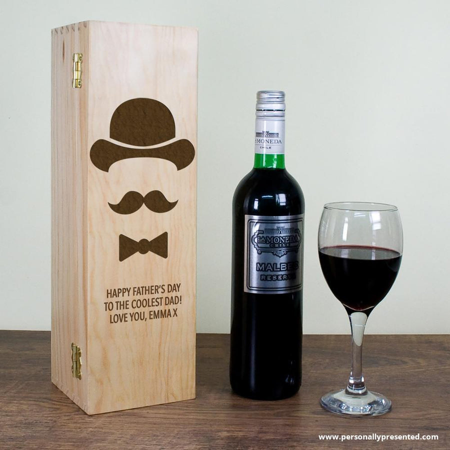 Gentleman Dad's Wine Box